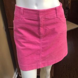 Lily Pulitzer Corduroy Skirt